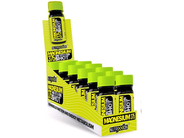 Nutrixxion Magnesium 375 +B6 Vitamin Shot 12 x 60ml, Citrus